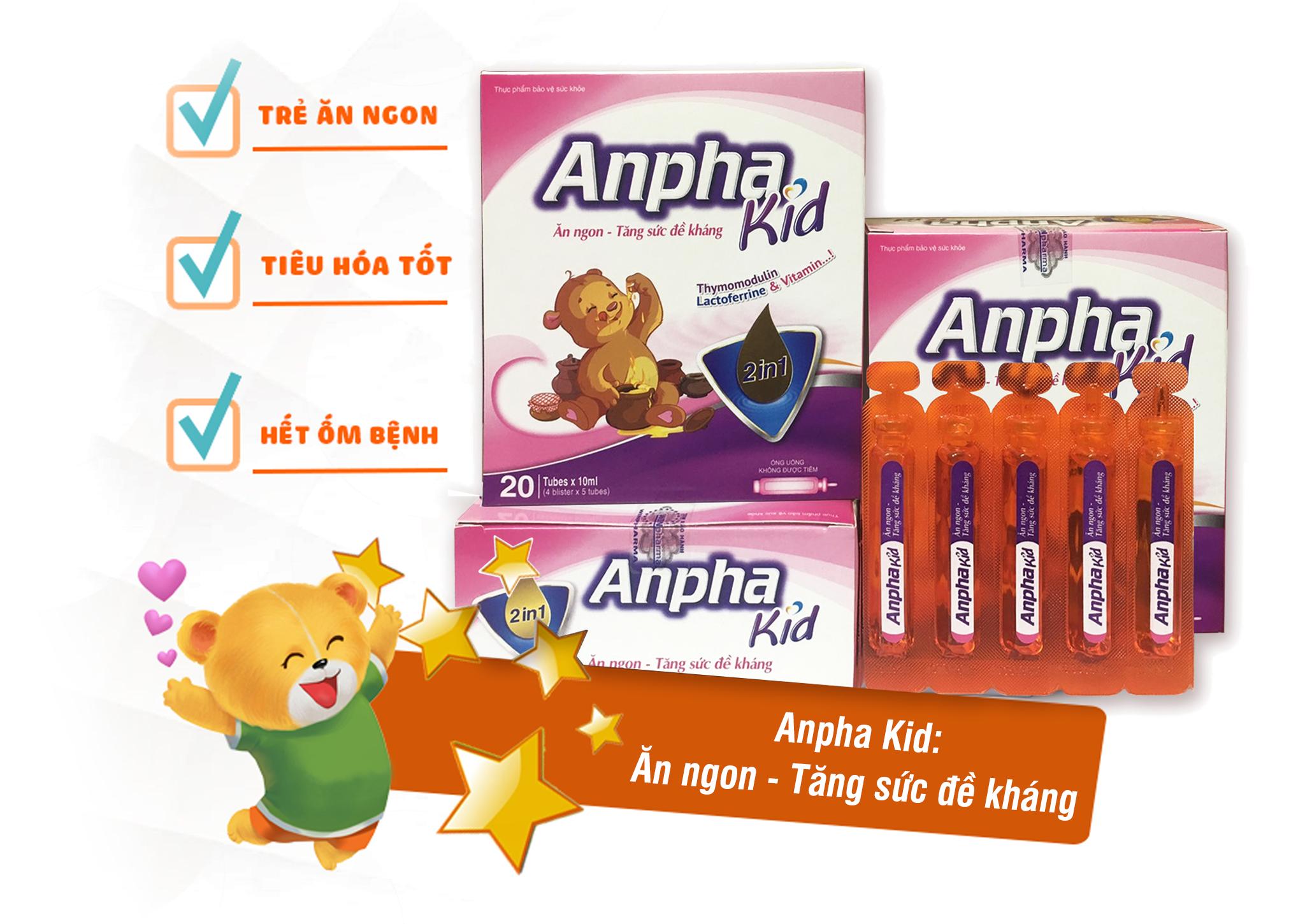 Anpha Kid – Ăn ngon, Tăng sức đề kháng 4
