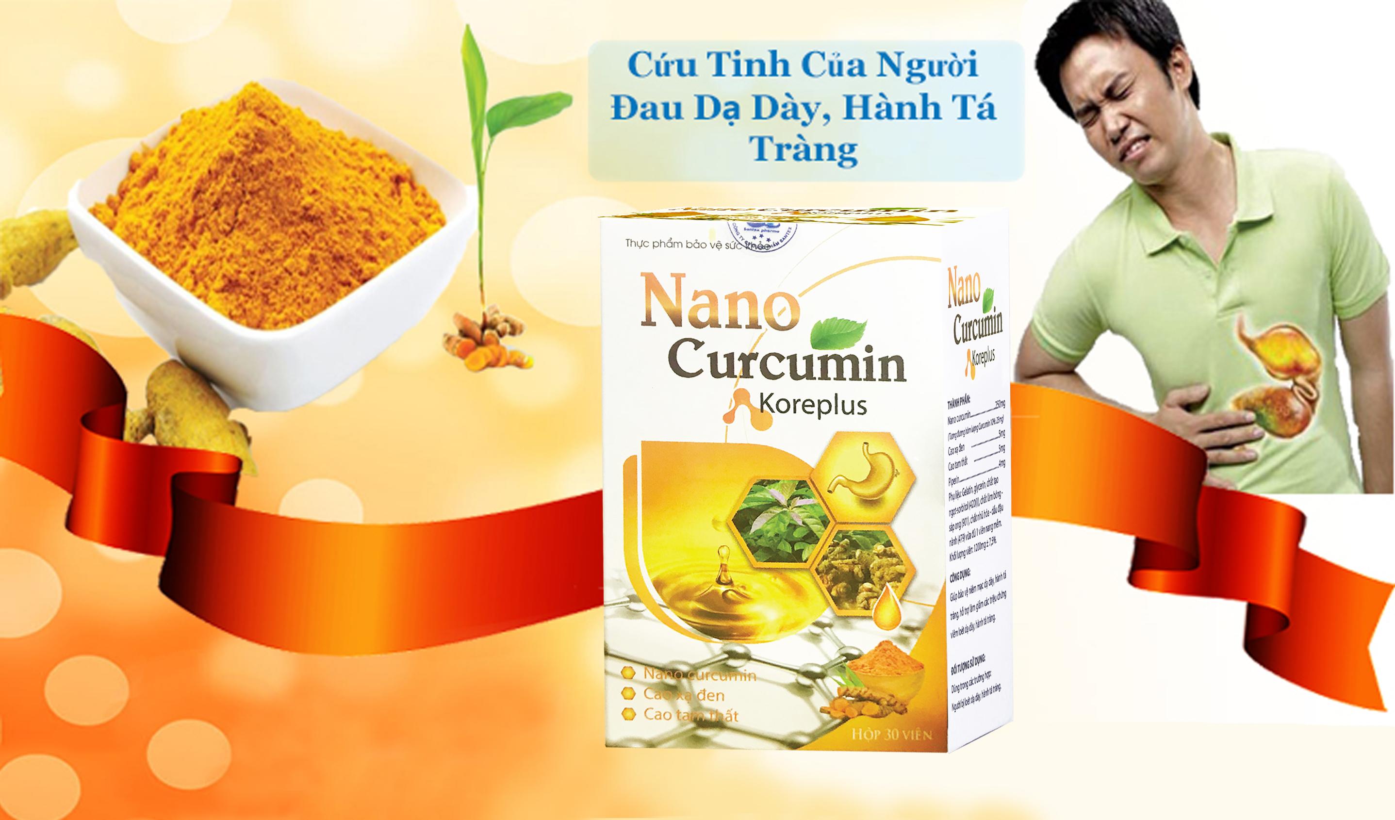 Nano Curcumin – tinh chất từ nghê vàng – điều trị dạ dày, hành tá tràng 1